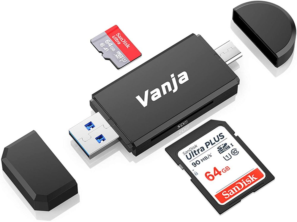 Vanja USB SD card reader for Tesla