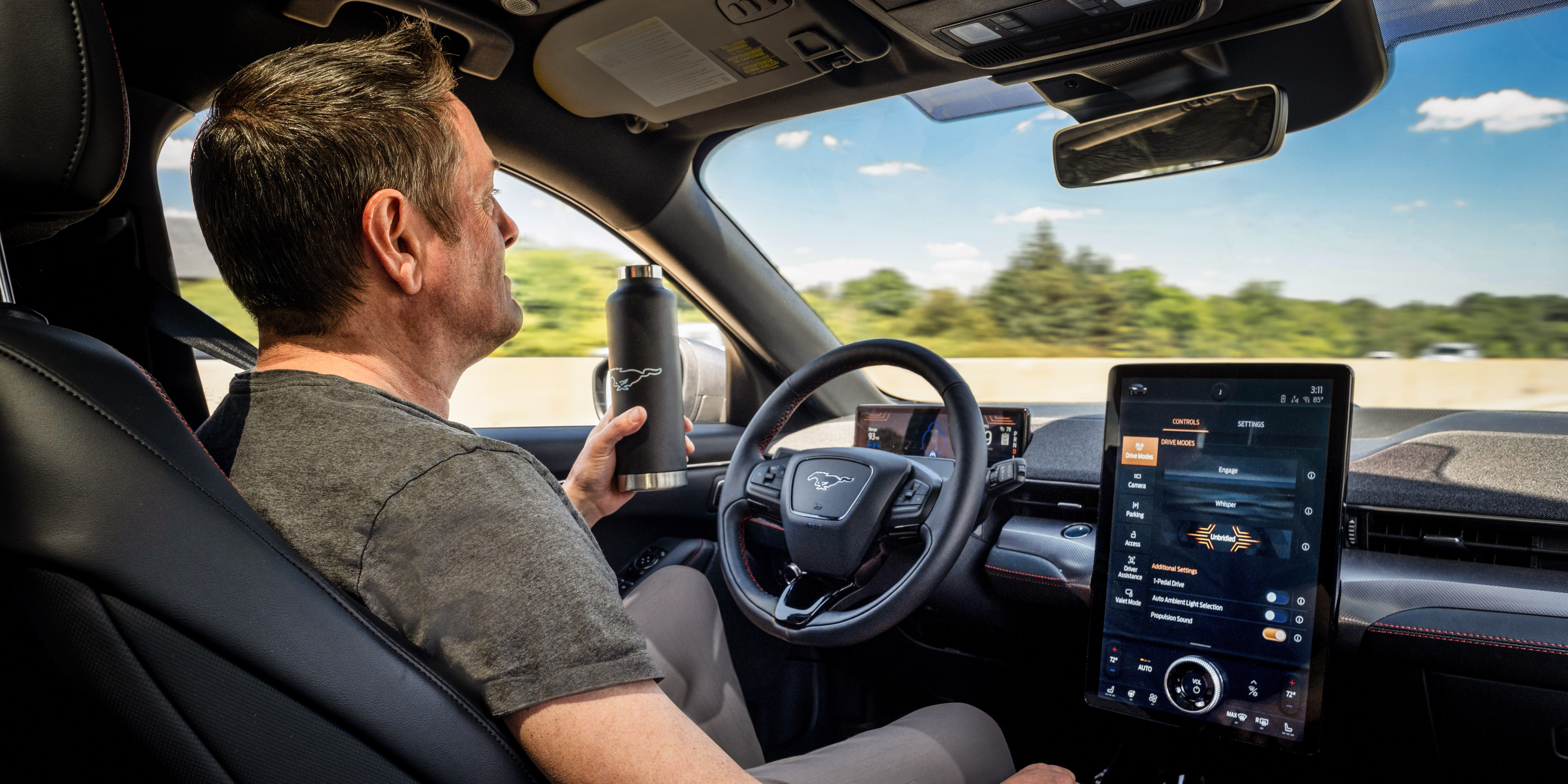 Ford releases more details about Mustang Mach-E's level 3 hands-free autonomous driving capability - Electrek