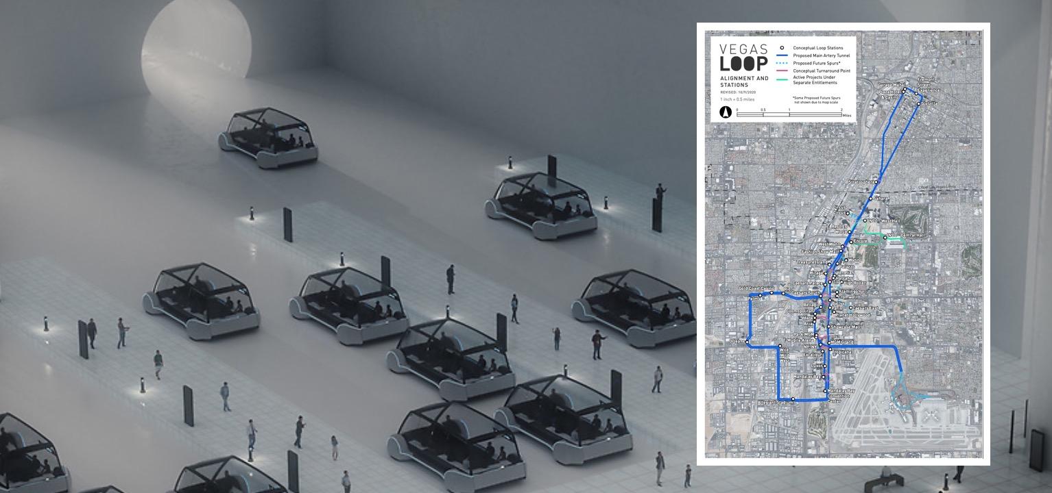 Elon Musk's Boring Company expands Las Vegas' Tesla vehicles Loop syst... image