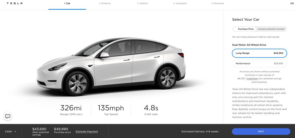 Tesla Boosts Model Y Range Electrek