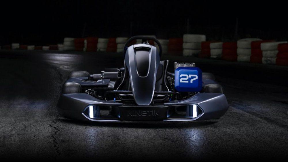 kinetik electric go-kart