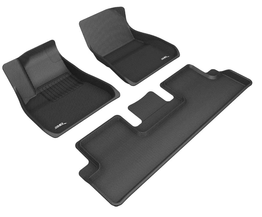 3D MAXpider Rubber Floor Mats for Model 3