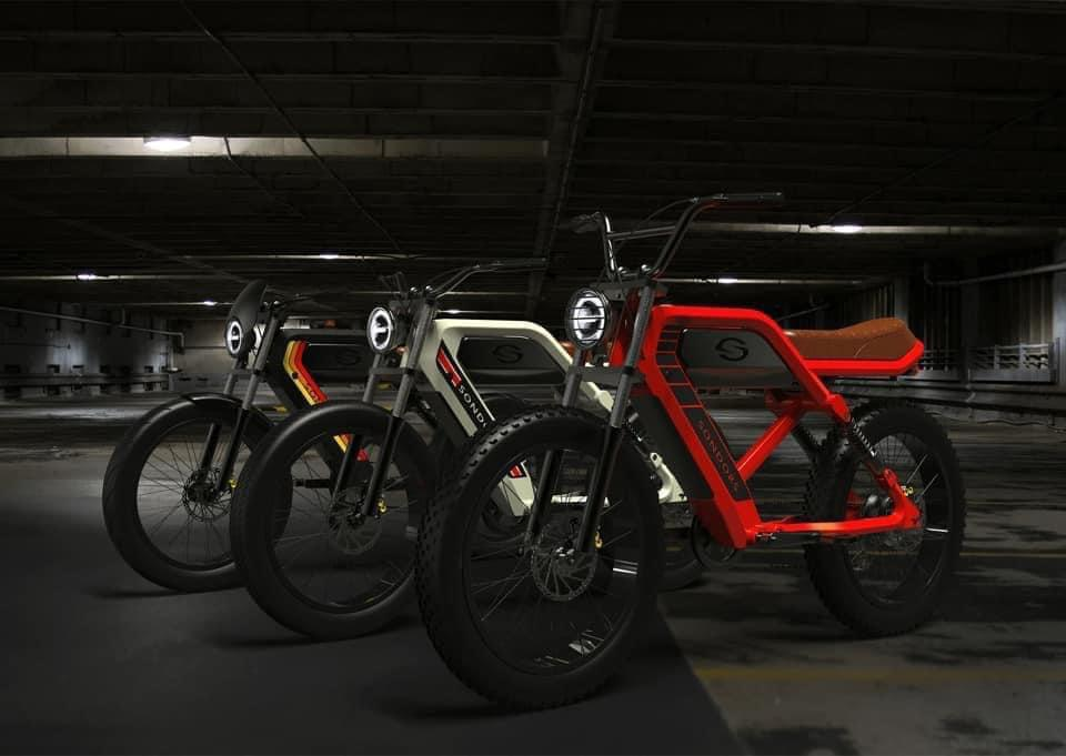 SONDORS MadMods unveiled as long-range and low-cost electric mopeds