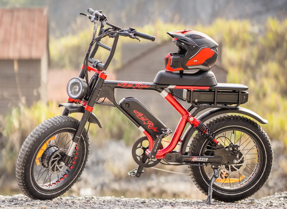 ariel rider grizzly e-bike