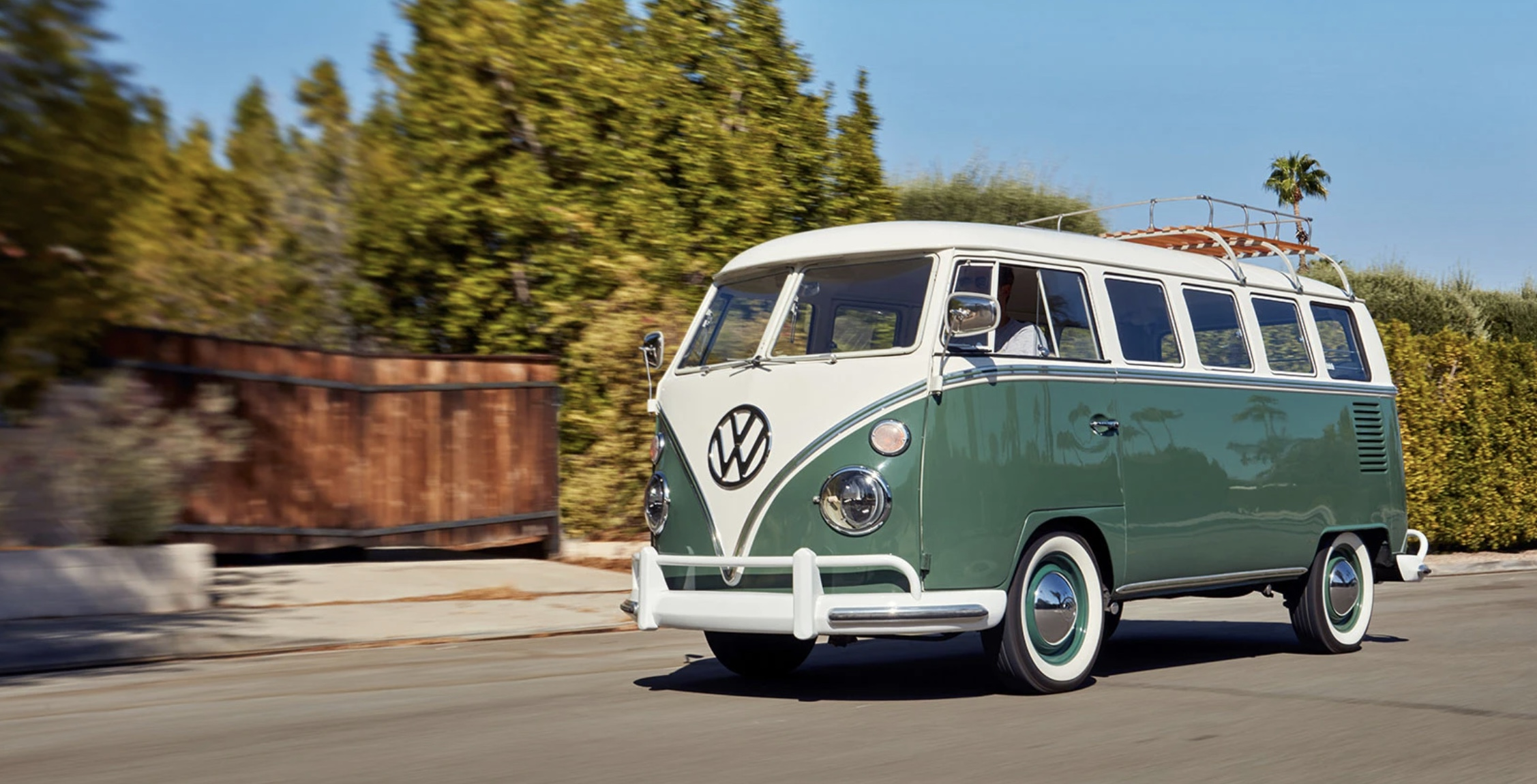 Tesla Powered Classic 1966 Vw Microbus Delivers Electric Van Life And You Can Win It Electrek