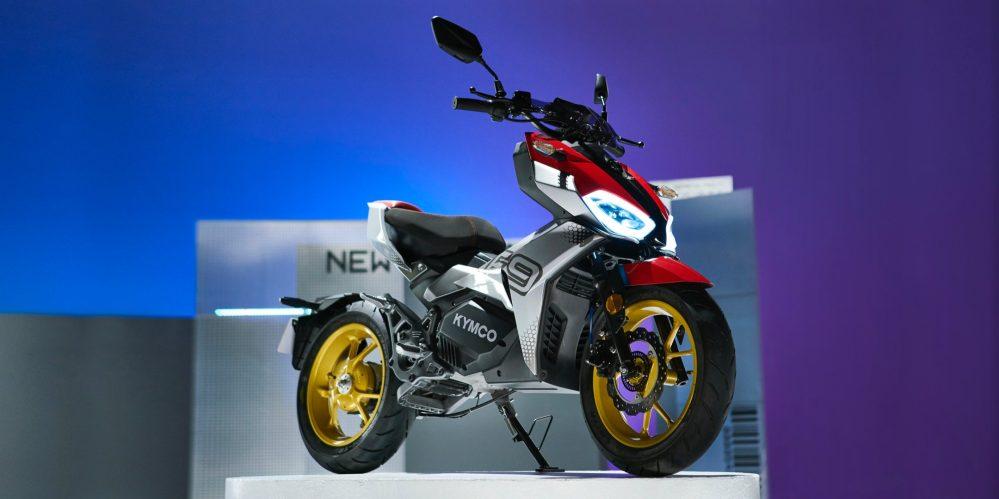 электрический скутер kymco f9
