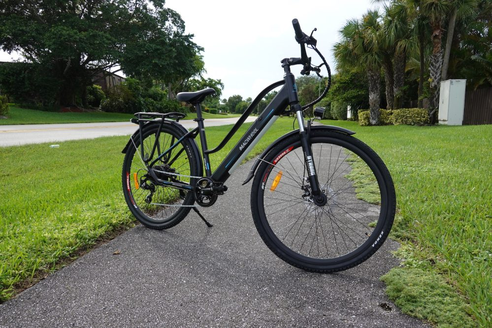 macwheel cruiser electric bicycle