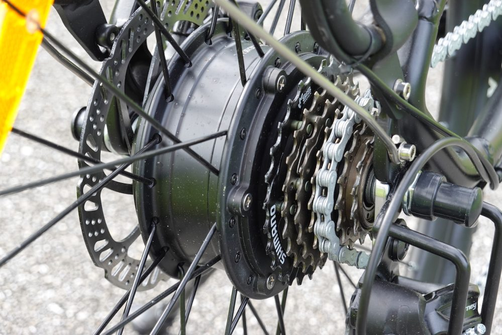 macwheel cruiser electric bicycle