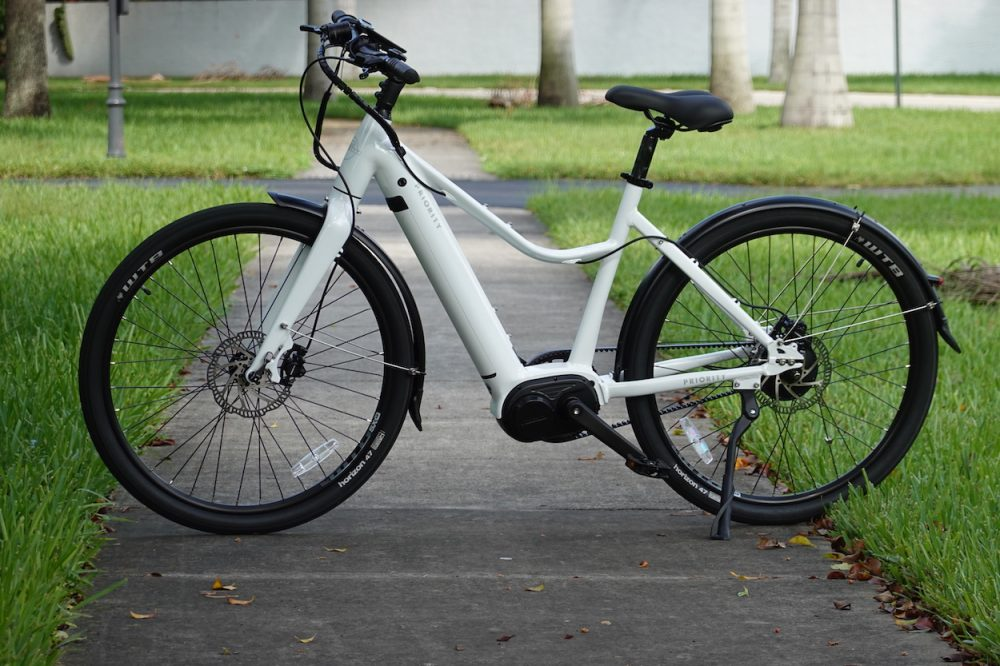priority current electric bicycle