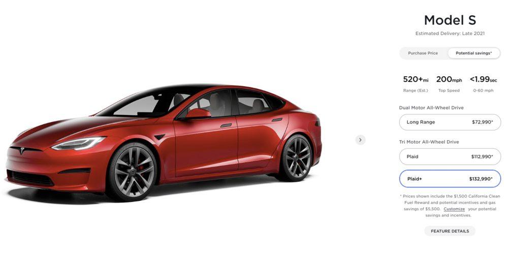 Tesla Cost