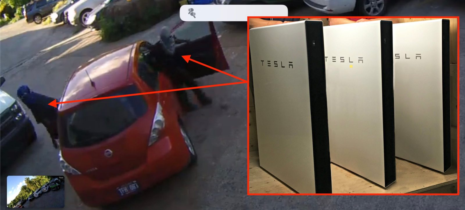 Thieves steal $45,000 worth of Tesla batteries that were ...