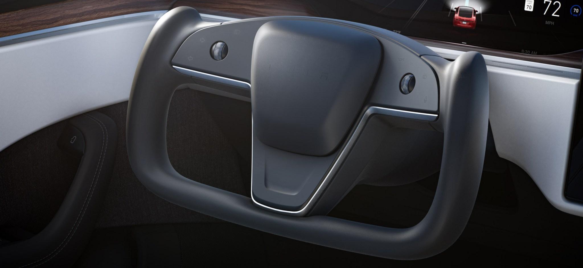 Tesla-new-Model-S-picture-steering-wheel