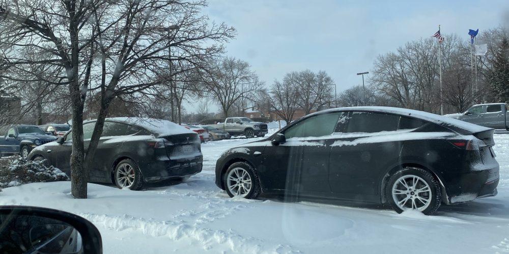 Tesla range cold