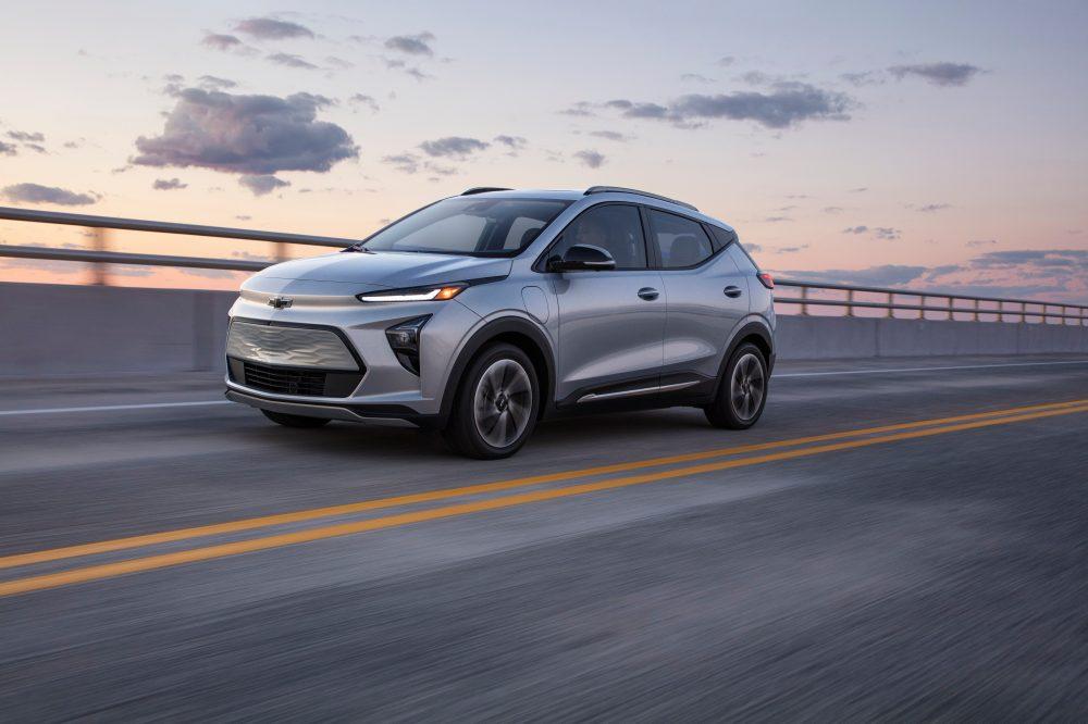2022 Chevrolet Bolt EUV driving shot