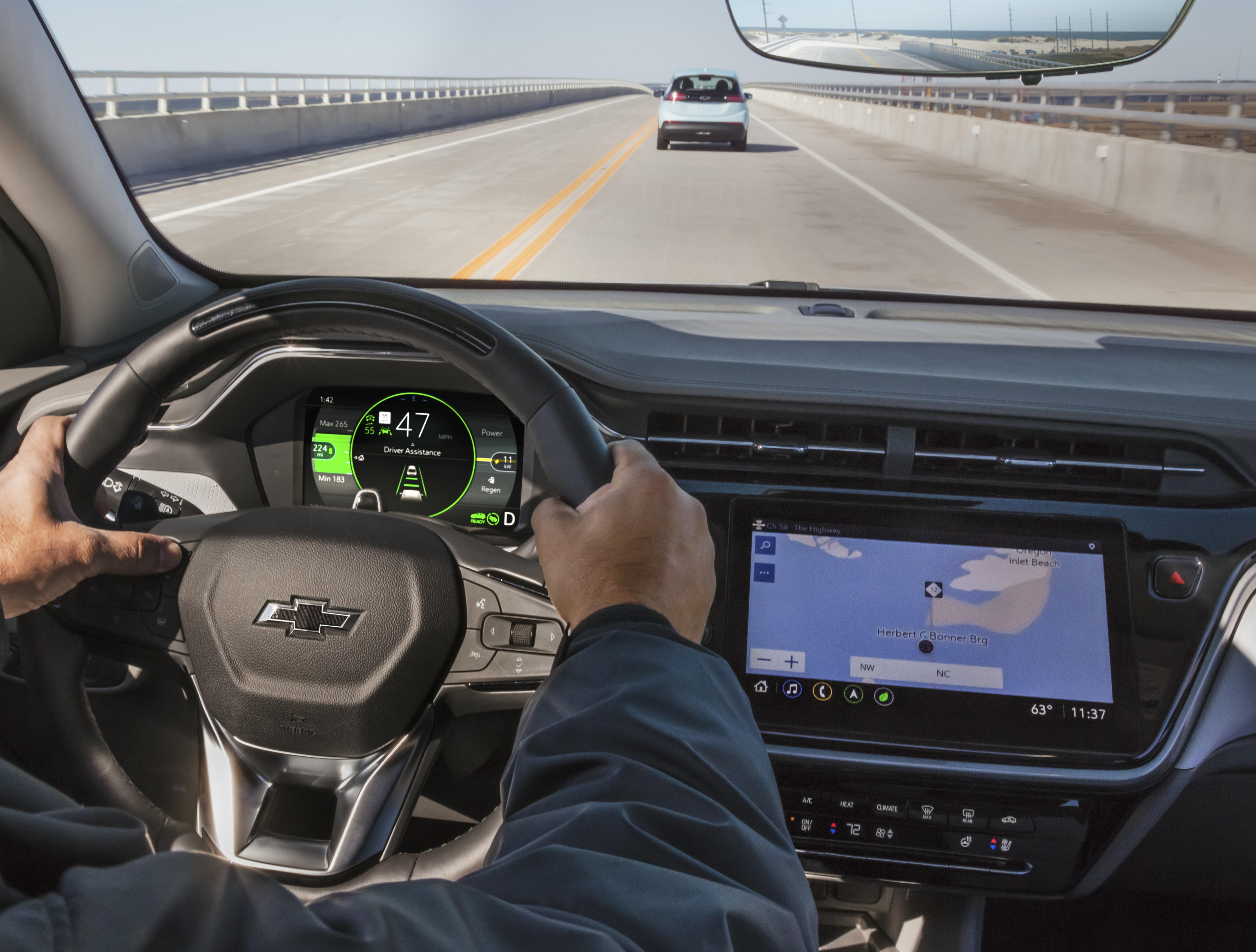 Навигация Chevrolet Bolt EUV 2022 г. система