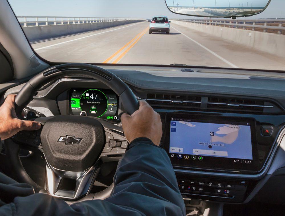 2022 Chevrolet Bolt EUV navigation system