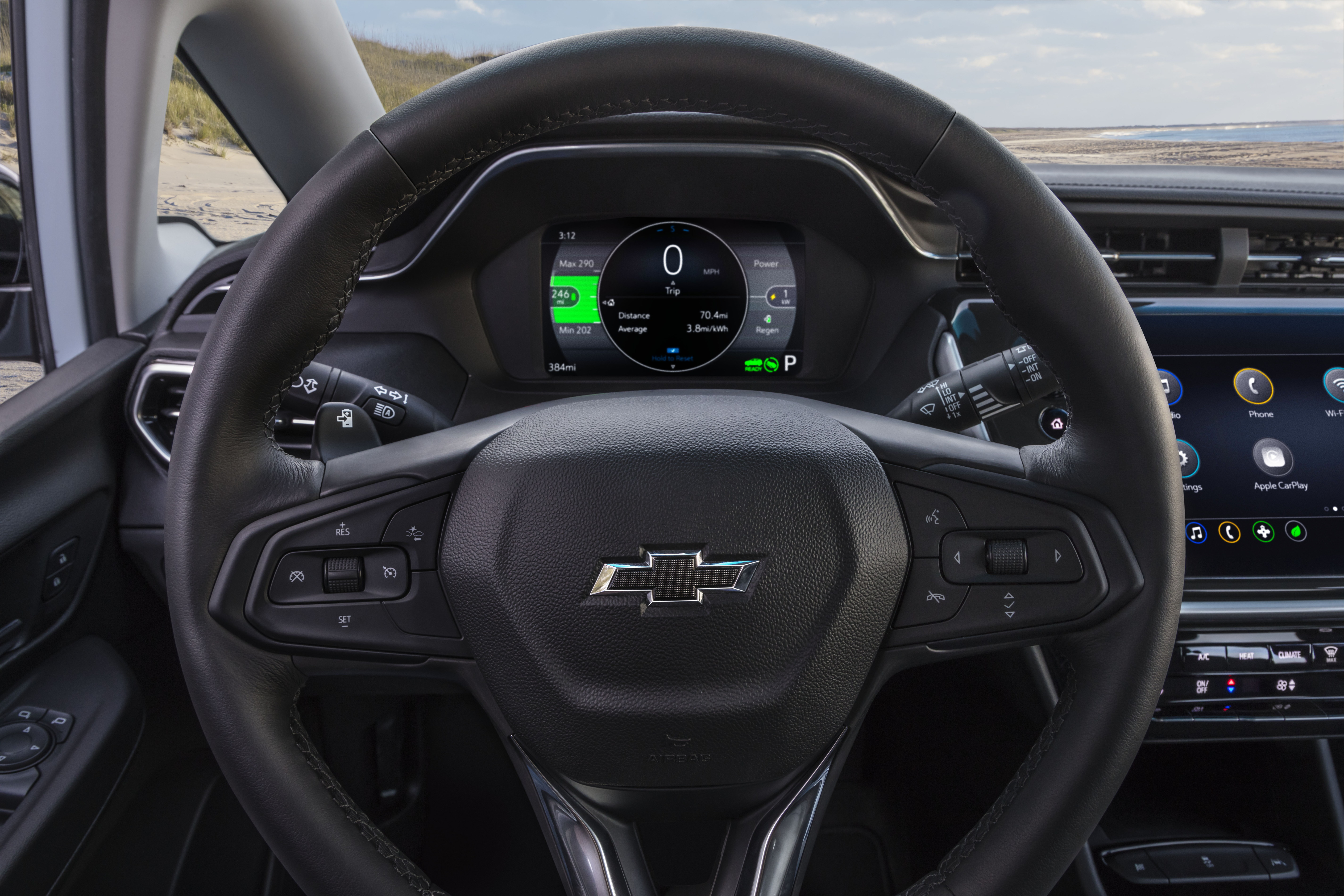 Инструмент Chevrolet Bolt EV 2022 г. панель и руль