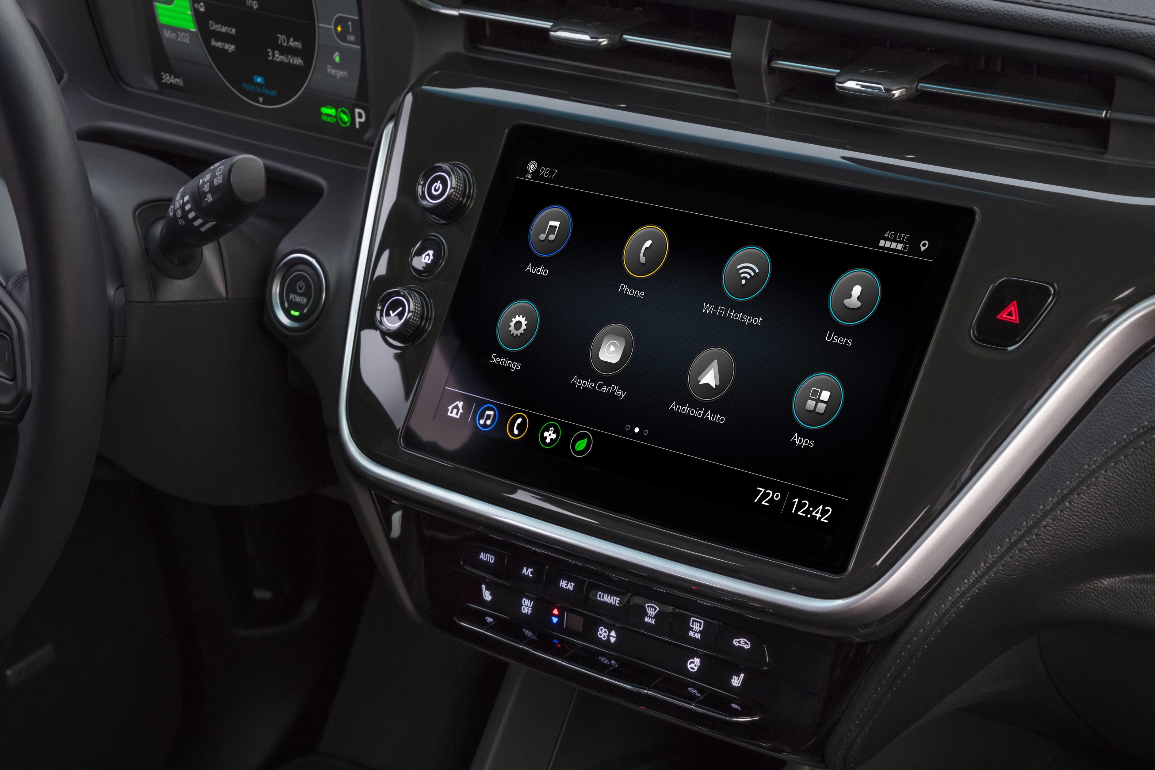 2022 Chevrolet Bolt EV информационно-развлекательная система