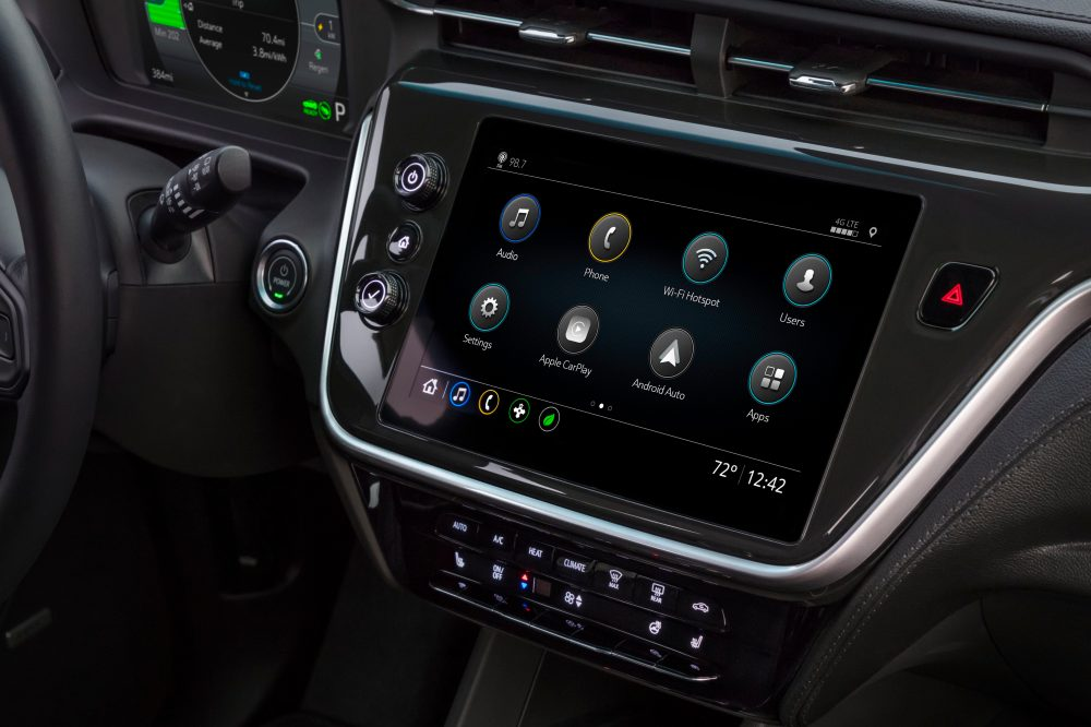 2022 Chevrolet Bolt EV infotainment system