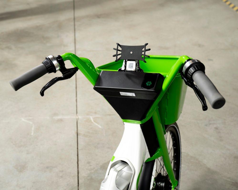 lime electric bike