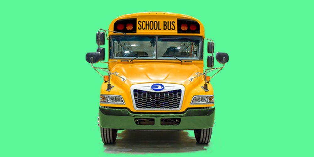 Cummins school bus