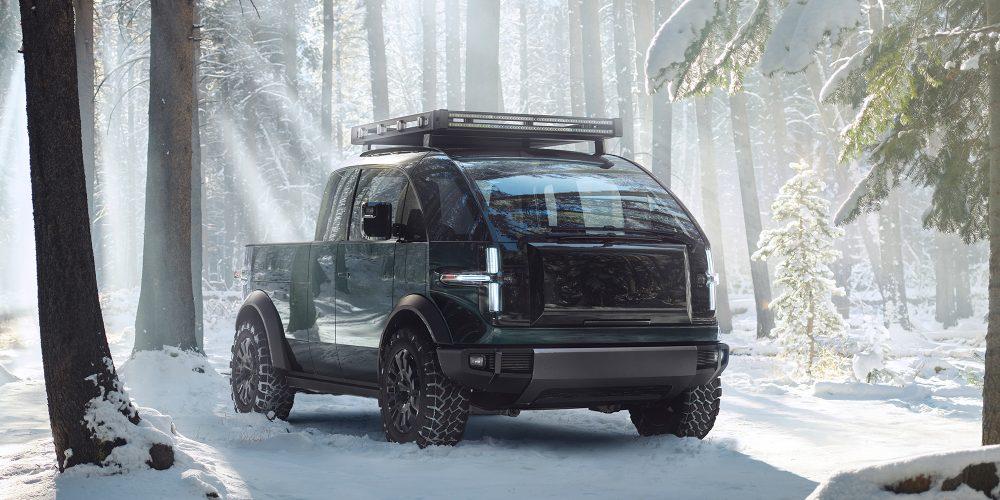 Canoo pickup truck