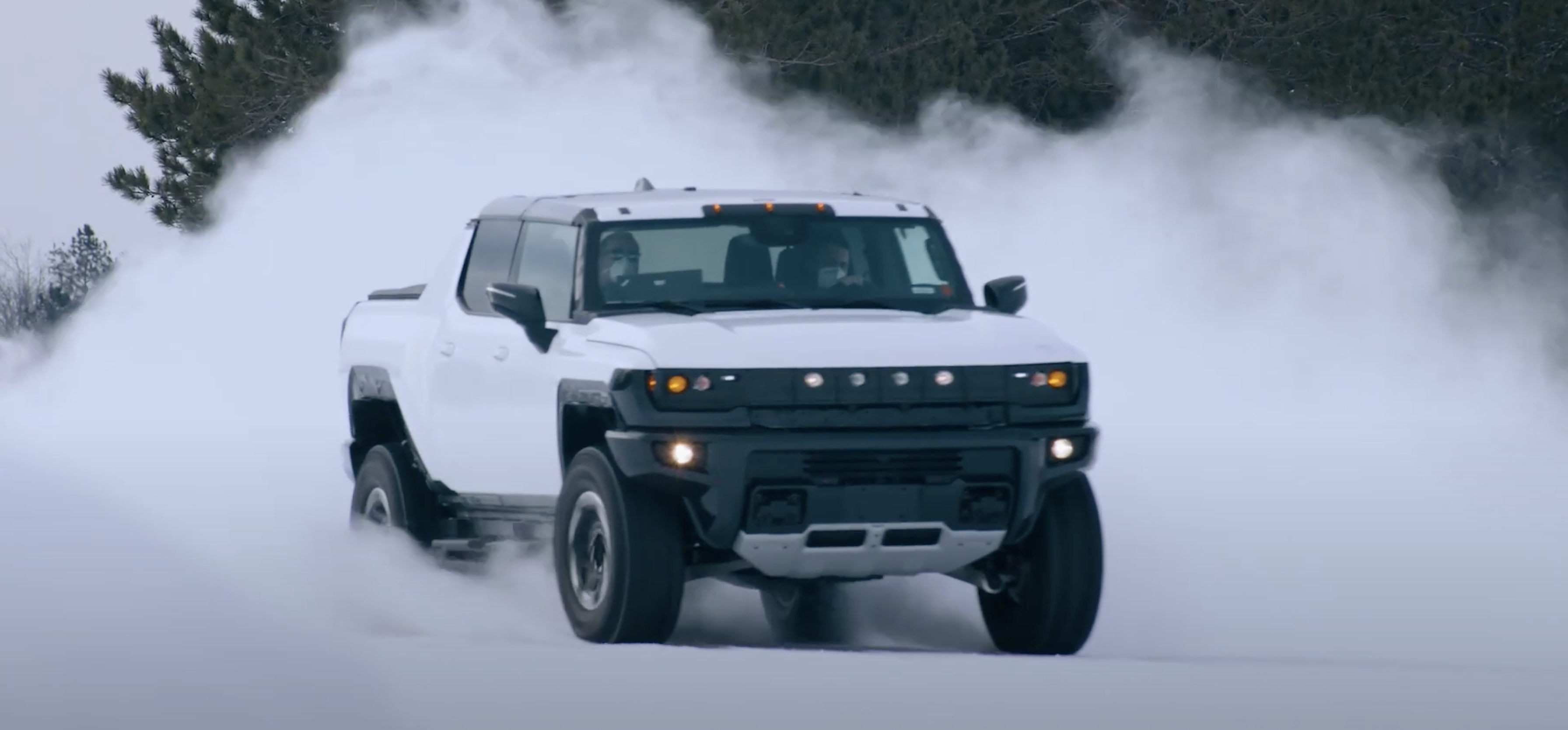 GM releases new Hummer EV electric pickup testing footage, announces SUV  version unveil - Electrek