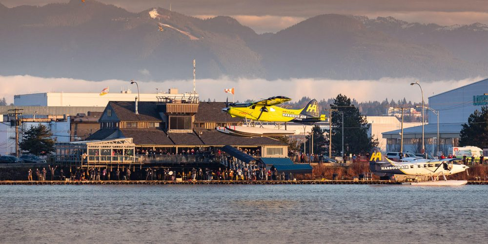 Harbour Air electric airplane