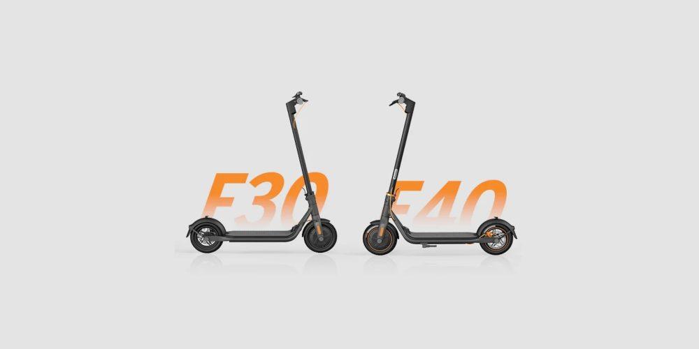 ninebot f40 ninebot f30 scooter