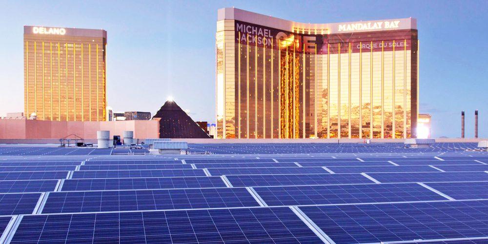 MGM solar Las Vegas