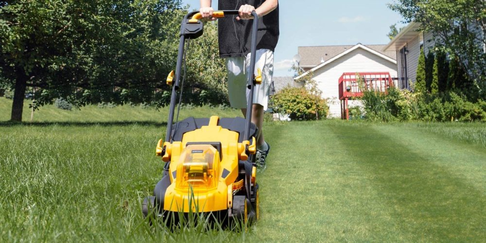 new green deals electric mower