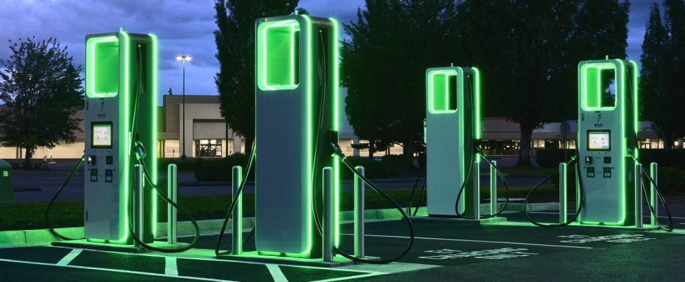 electrify america fast charger