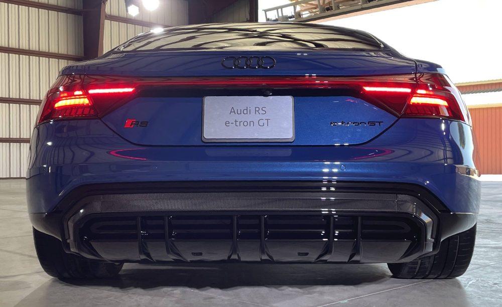 RS e-tron GT rear end