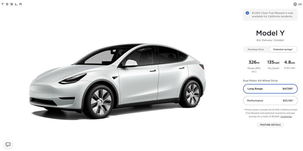 Tesla model x model y