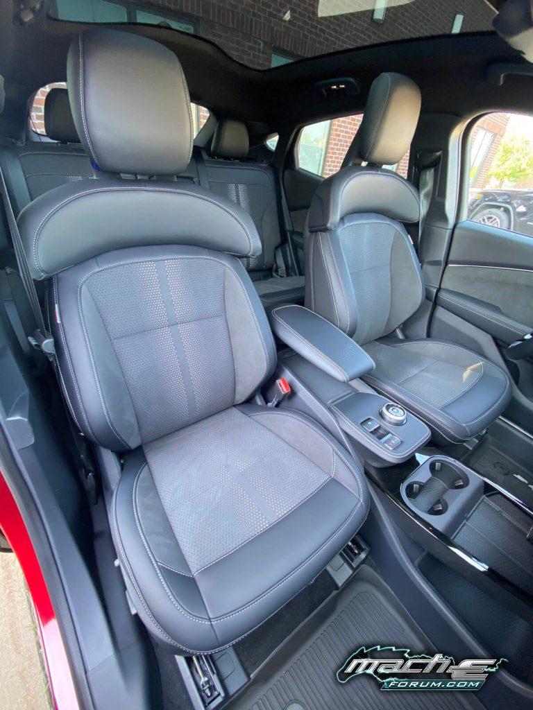 Mach-E GT interior