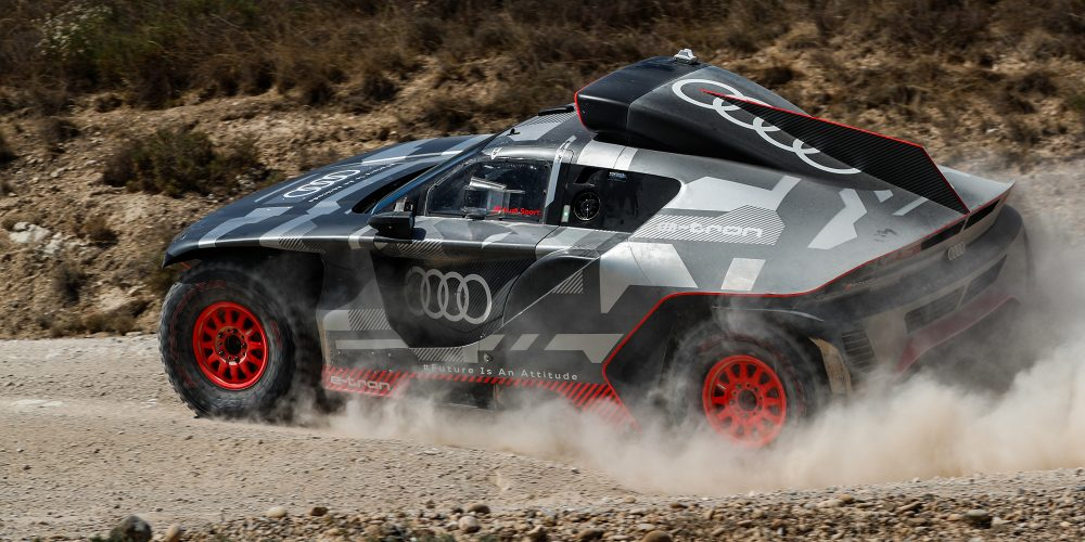 Audi e-tron rally