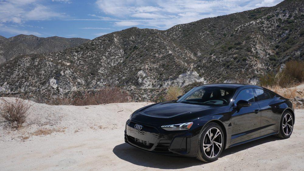 Audi e-tron GT canyon angeles crest