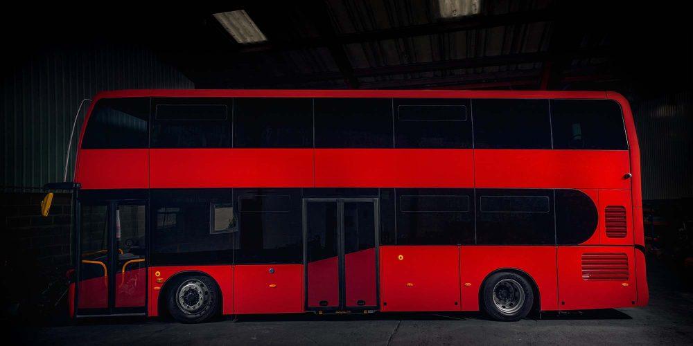 electric double decker bus