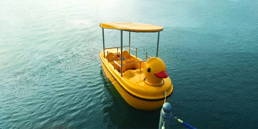 electric duck boat