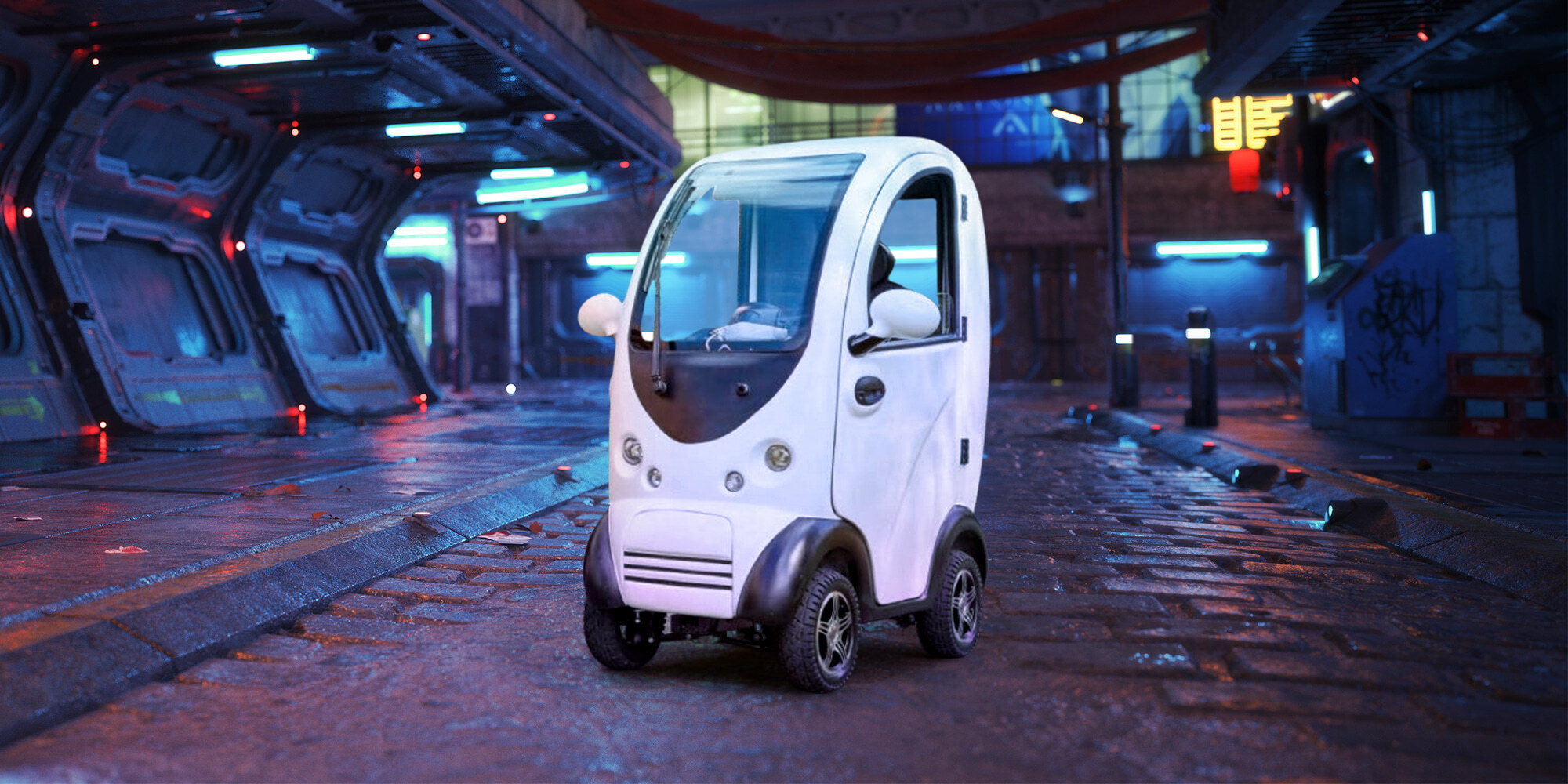 Awesomely Weird Alibaba Electric Vehicle of the Week: Tiny One-Seater  Electric Car - Electrek