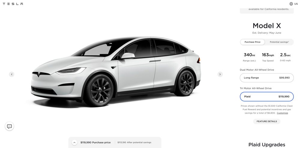 Screen Shot 2021 10 01 at 6.14.17 AM - A handful of new Tesla Model X SUVs spotted as deliveries are delayed